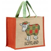 JB12 Shopping Bag-TARTAN SHEEP