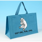 JB20 Knitting Bag Turquoise