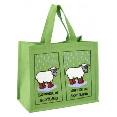 JB33 Shopping Bag-SUMMER/WINTER IN SCOTLAND