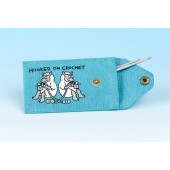 JB39 Crochet Hook Holder-Turquoise