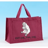 JB42 Knitting Bag Dark Pink
