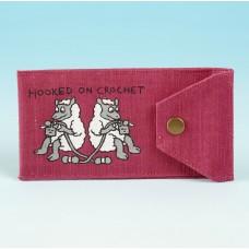 JB52 Crochet Hook Holder-Dark Pink