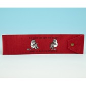 JB98 Knitting Needle Holder-Bright Red