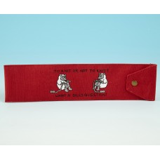 JB53 Knitting Needle Holder-Bright Red