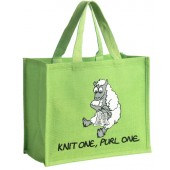 JB6 Shopping Bag-KNIT ONE, PURL ONE