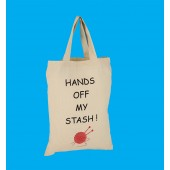 SB4 Small Knitting Shopper Bag-HANDS OFF MY STASH