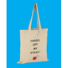 SB8 Large Knitting Shopper Bag-HANDS OFF MY STASH