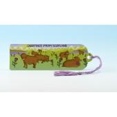 B14 Bookmark-HIGHLAND COWS