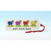 B23 Bookmark-JUST FOUR EWES
