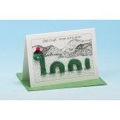 N1 Scottish Card-NESSIE-GREETINGS FROM SCOTLAND