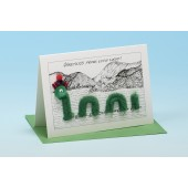 N2 Scottish Card-NESSIE-GREETINGS FROM LOCH NESS
