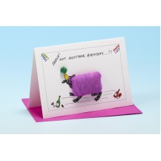 S103 Sheep Card-PHEWE NOT ANOTHER BIRTHDAY