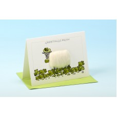 S142 Personalised Sheep Card-GREETINGS FROM . . . . . . . . . .
