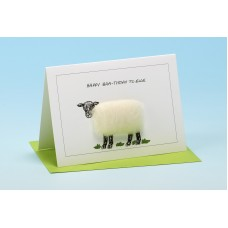 S15 Sheep Card-HAPPY BAA-THDAY TO EWE