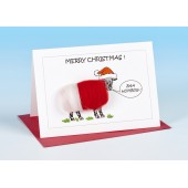 S165 Sheep Card-BAA HUMBUG