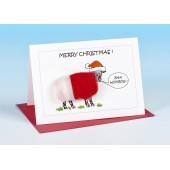 S165 Sheep Card-BAA HUMBUG