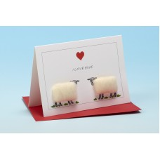 S31 Sheep Card-I LOVE EWE
