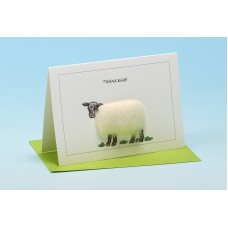S33 Sheep Card-THANKEWE