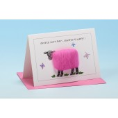 S47 Sheep Card-EWE'S NOT FAT, EWES FLUFFY