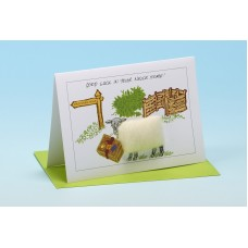 S63 Sheep Card-NEWE HOME