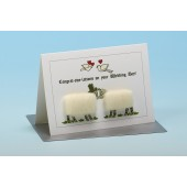 S96 Sheep Card-CONGRAT-EWE-LATIONS ON YOUR WEDDING DAY
