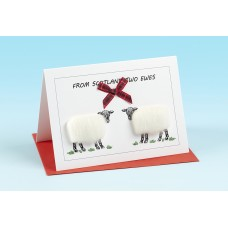 SC35 Scottish Card-FROM SCOTLAND TWO EWES