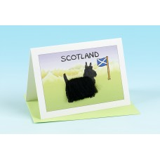 SC36 Scottish Card-SCOTTIE DOG