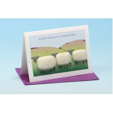 SG23 Personalised Sheep Card-RUSH HOUR IN . . . . . . . . . .