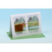 Y1 Highland Cow Card-LITTLE POEM