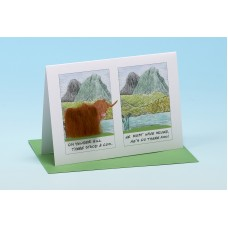 Y1 Highland Cow Card-LITTLE POEM