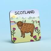 5209 Coaster-HIGHLAND COWS