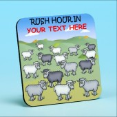 5211 Personalised Coaster RUSH HOUR IN . . . . . . . . . .