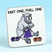 5220 Coaster-KNIT ONE, PURL ONE