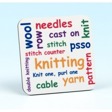 5230 Coaster-KNITTING WORDS
