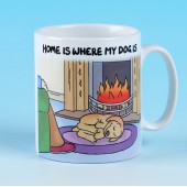 5171 Mug-HOME IS WHERE MY DOG IS