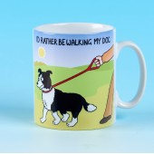 5172 Mug-I'D RATHER BE WALKING MY DOG