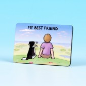 6174 Fridge Magnet-MY BEST FRIEND