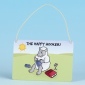 7106 Hanging Sign-THE HAPPY HOOKER