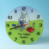 7113 Clock THE HAPPY HOOKER