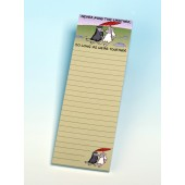 3105 Magnetic Memo Pad-NEVER MIND THE WEATHER