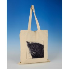 8605 Shopper Bag-MARK CHARLES-HIGHLAND COW