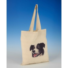 8611 Shopper Bag-MARK CHARLES-COLOURED COLLIE