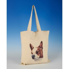 8614 Shopper Bag-MARK CHARLES-COLOURED CHIHUAHUA