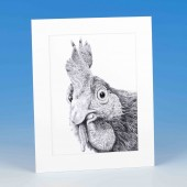 8408 Mounted Print-MARK CHARLES-HEN