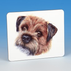 8312 Placemat-MARK CHARLES-COLOURED BORDER TERRIER