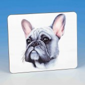8315 Placemat-MARK CHARLES-COLOURED FRENCH BULLDOG