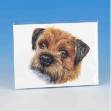 8512 Unmounted Print-MARK CHARLES-COLOURED BORDER TERRIER