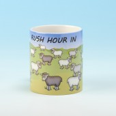 5111 Personalised Mug-RUSH HOUR IN . . . . . . . . . .