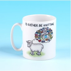 5136 Mug-I'D RATHER BE KNITTING
