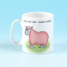 5142 Mug-EWES NOT FAT, EWES FLUFFY
